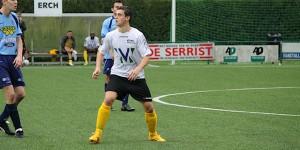 Denis ghys scoorde de 1-1 tegen KFC Diest